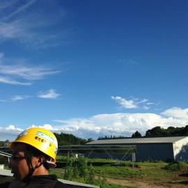那須太陽光設置工事